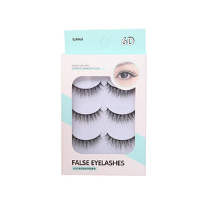 رموش ثري دي إيلاهوي ILAHUI Eyelashes 3D 6 PCS