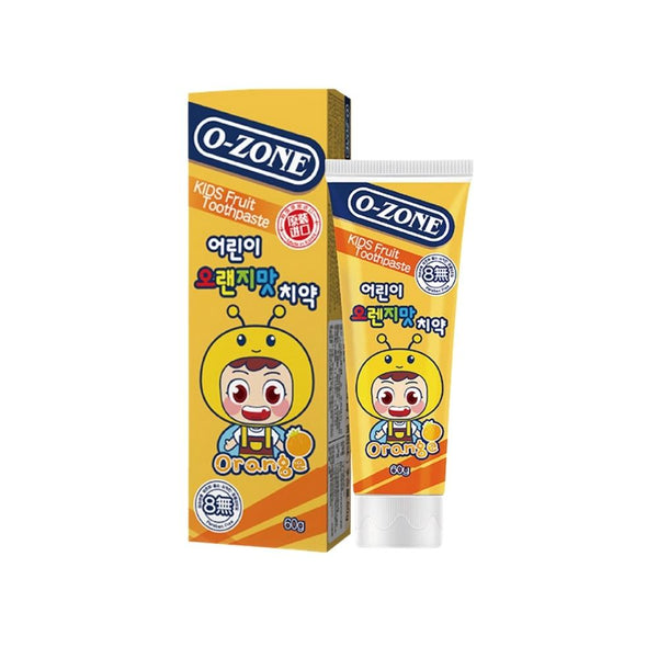 معجون اسنان للاطفال Toothpaste for children orange flavor