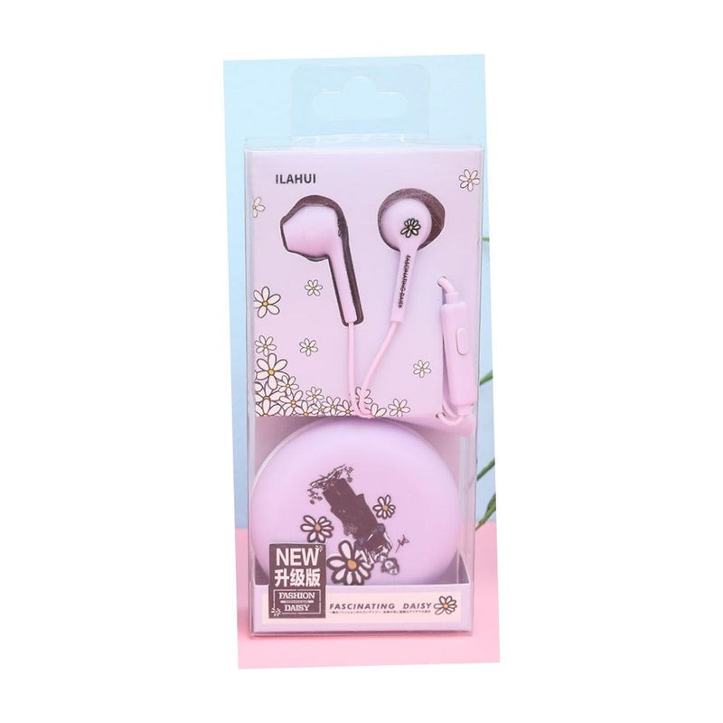 سماعة اي لاهوي IILAHUI Earphone with case