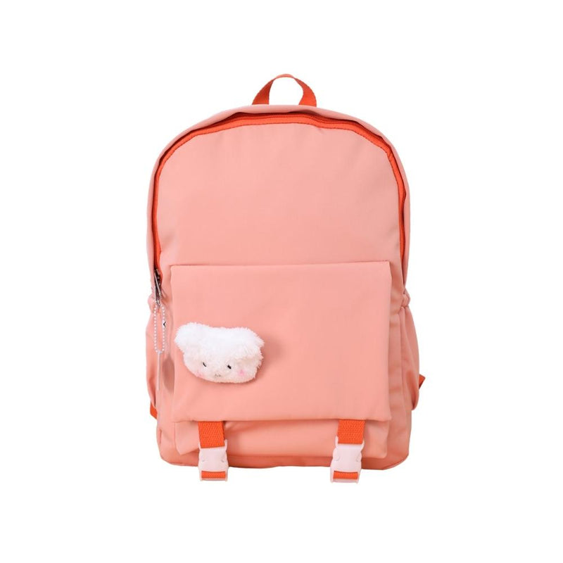 حقيبة ظهر Canvas patterned backpack