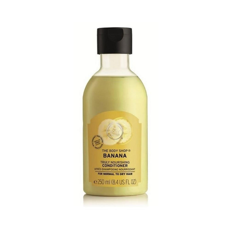 بلسم الشعر ذا بدي شوب THE BODY SHOP Banana Truly Nourishing Conditioner