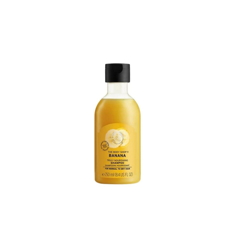 شامبو الشعر ذا بدي شوب THE BODY SHOP Banana Truly Nourishing Shampoo