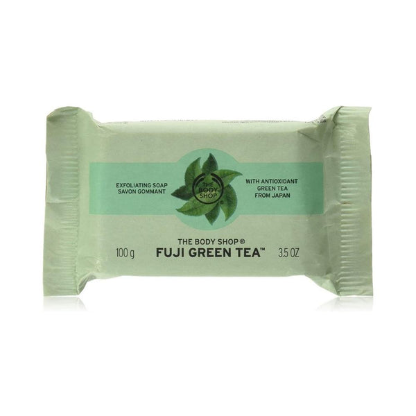 صابون مقشر ذا بدي شوب The Body shop Fuji Green Tea Exfoliating Soap