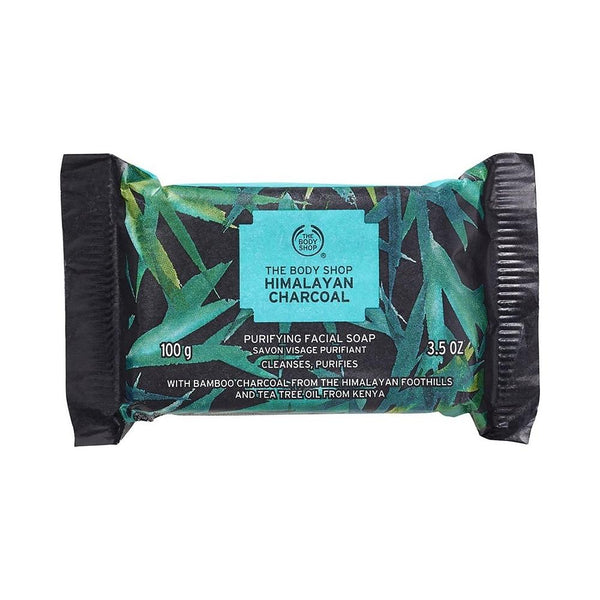 صابون الوجه بالفحم ذا بدي شوب The body shop Himalayan Charcoal Purifying Facial Soap