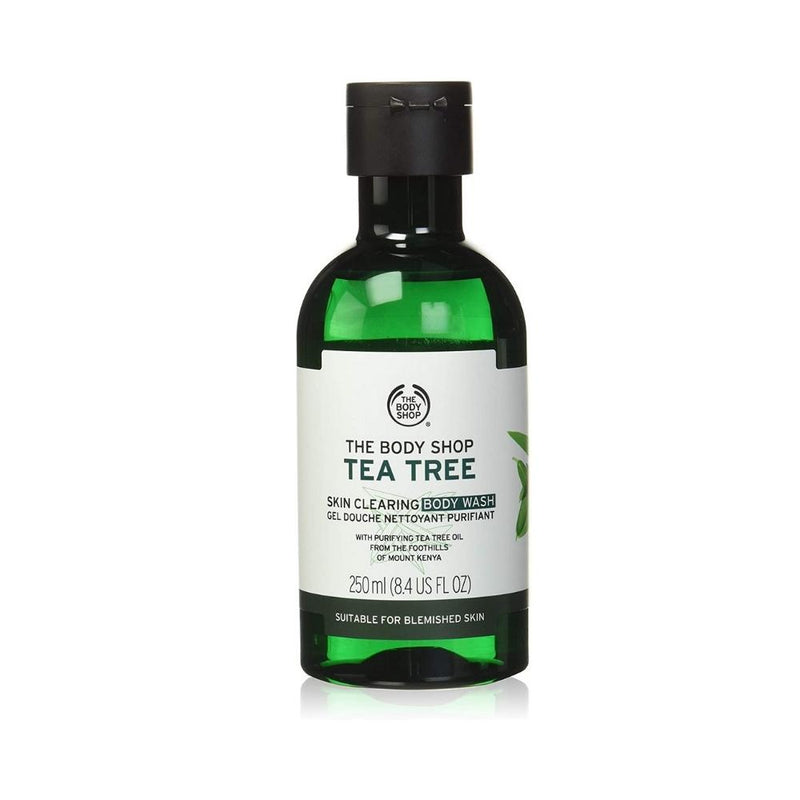 غسول الجسم ذا بدي شوب The Body Shop Tea Tree Body Wash Shower Gel 250ml