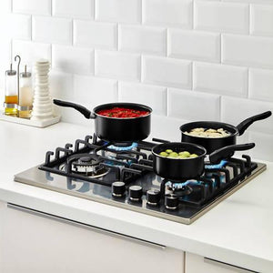 سيت قدور بمقابض ايكيا IKEA Pots Sets With Handle