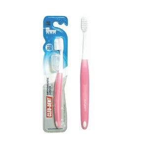 فرشاة اسنان اورثودونتك كليو دينت CLEO DENT Orthodontic Tooth Brush