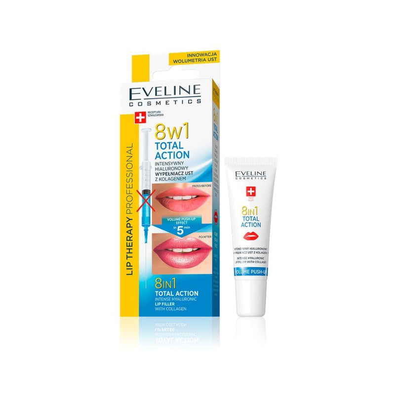 افيلين معالج شفه EVELINE Lip Therapy 8in1 Total Action
