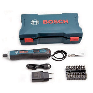 بوش سيت مفك براغي لاسلكي Bosch  Cordless GO Smart Screwdriver Set Blue 3.6V