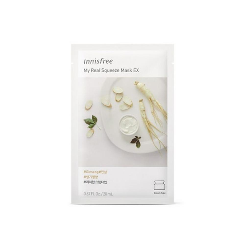 قناع ماي ريل سكويز اي اكس انيسفري innisfree My Real Squeeze Mask ex