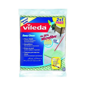 2+1 pc فيلدا فوطة لتنظيف ارضيات  Vileda Floor cloth Easy Clean