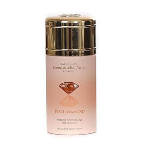 مزيل العرق بيج دايموند ايمانويل جين EMMANUELLE JANE Peach Diamond Deodorant Spray
