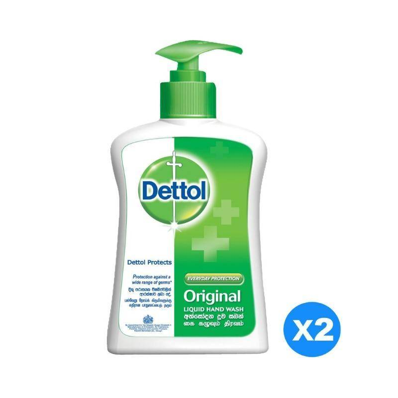 صابون سائل ديتول فريش ثنائي Dettol Liquid Hand Wash Soap Original  Pack of 2 Pieces (2 x 200ml)