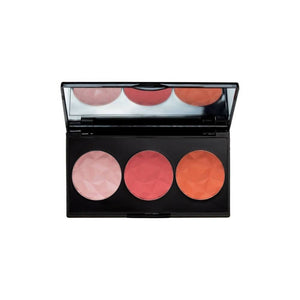 احمر خدود لوكس باشفل تريو ام يو اي MUA Luxe Bashful Trio Blush