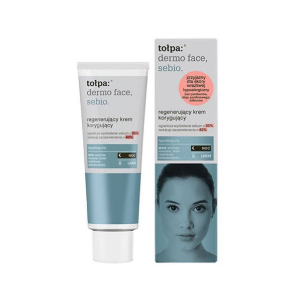 كريم ليلي للبشرة تولبا Tolpa Regenerating Corrective Night Cream