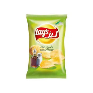 شيبس ليز بالملح والخل lays salt and vinegar chips