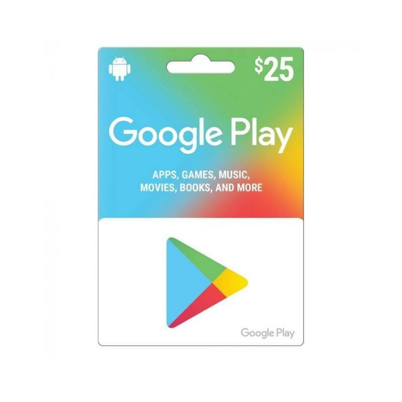 كارت كوكل بلي google play card