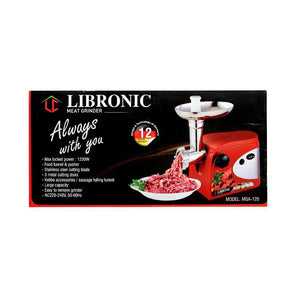 Libronic Daily Collection Meat Mincer MGA-120 مثرمة لحم من ليبرونك - Orisdi