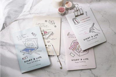 Diary & Life Creative Notebook (4 Types)