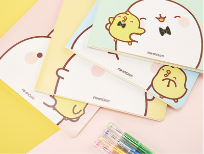 Molang Rabbit Paper Notebook