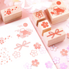 Spring in Japan Wooden Stamps