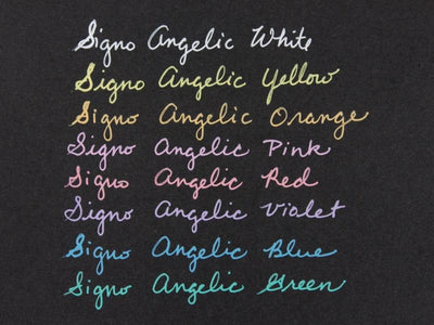 Uni-ball Signo Angelic Color Gel Pen - White