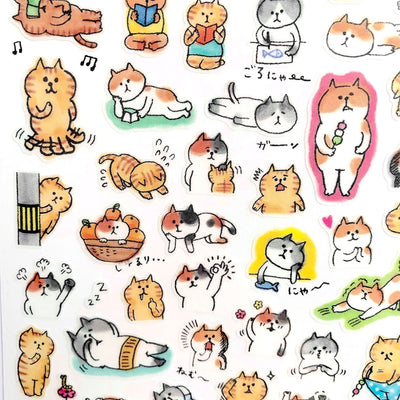 Goro Goro Nyansuke Stickers - Daily Routine