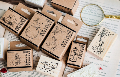 Little Prince Wooden Stamp
