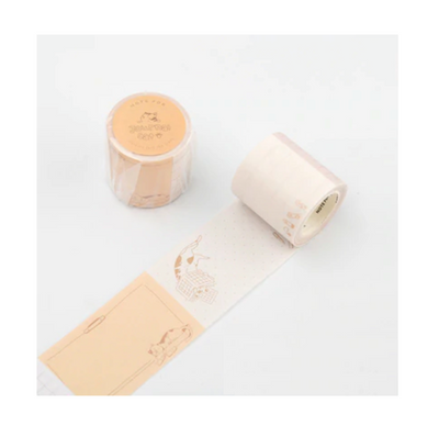 Journaling Cat Masking Tape