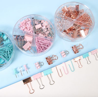 Push Pins & Paper Clips Set
