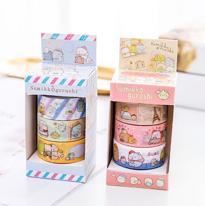 Sumikko Gurashi Washi Tape Set