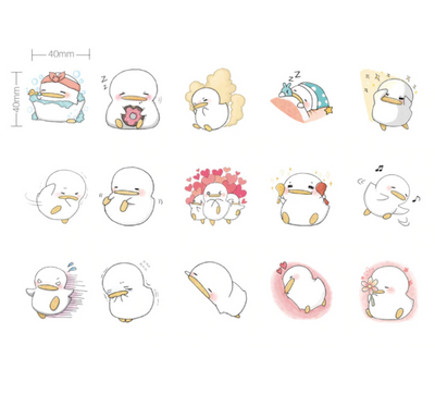 Little Duckling Paper Stickers