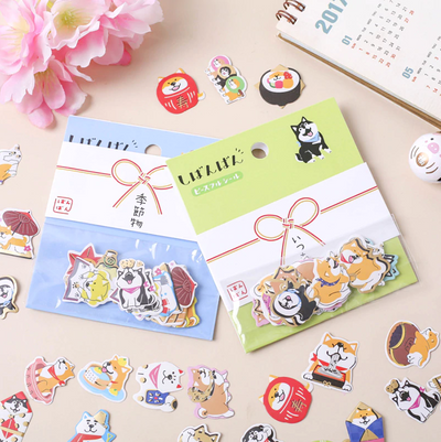 Shibanban Paper Stickers - Holiday