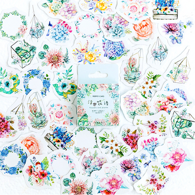Summer Garden Paper Stickers