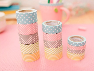 Patterned Washi Tape 5-Pack