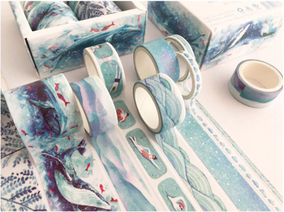 Blue World Washi Tape Set