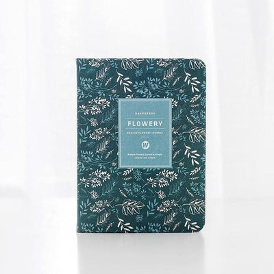 Ardium Flowery Journal - Pale Colors