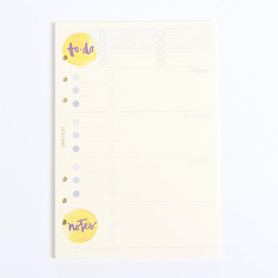 Do It Today Spiral Planner Refills