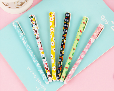 The Secret Garden Color Gel Ink Pen 6-pack