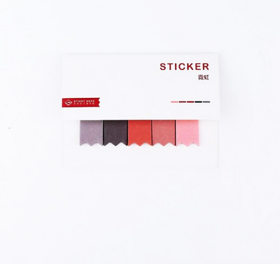 Gradient Color Index Sticky Notes