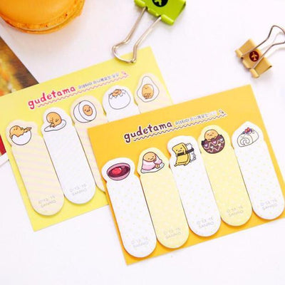Gudetama Index Sticky Notes
