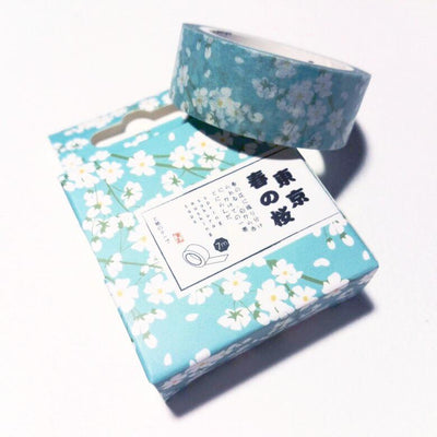 Japanese Floral Washi Tape
