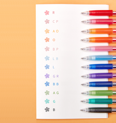Pilot Juice Gel Pen - 12 Color Set