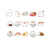 Rice Bowl Decorative Stickers