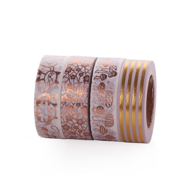 Rose Gold Pattern Washi Tape