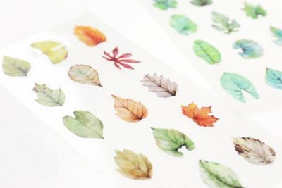 Tree Leaves Decorative Stickers