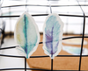 Watercolor Feather Sticky Notes