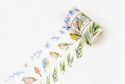 Wide Spring Blossom Washi Tape