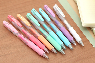 Japanese Sarasa Milk Color Gel Pen Set