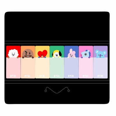 Cute BT21 Animals Sticky Notes